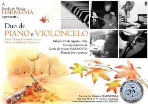 2015.08.15 escola harmonia - cartaz